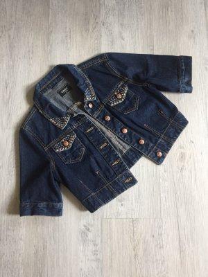 only blue denim Denim Jacket dark blue denim