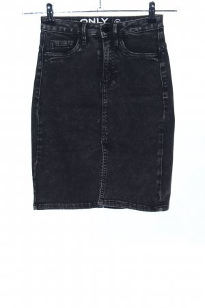 Only Denim Skirt black casual look