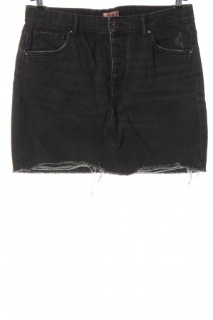 Only Jeansowa spódnica czarny W stylu casual