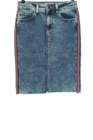 Only Jeansrock Streifenmuster Casual-Look