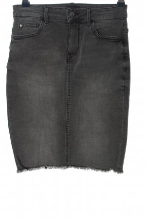 Only Jeansrock hellgrau Casual-Look