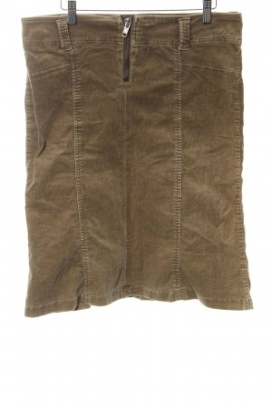 Only Jeansrock braun Casual-Look