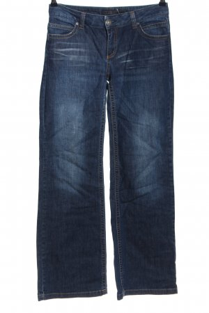 Only Jeansschlaghose blau Casual-Look