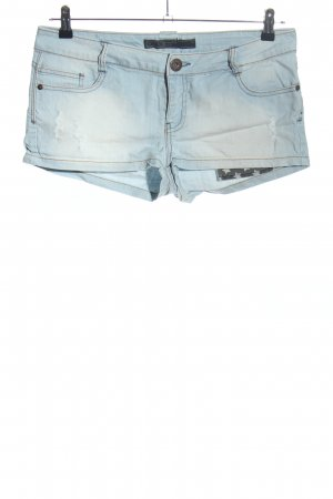 Only Jeansshorts blau Casual-Look