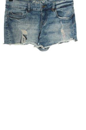 Only Short en jean bleu style décontracté