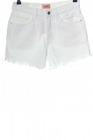Only Jeansshorts weiß Casual-Look