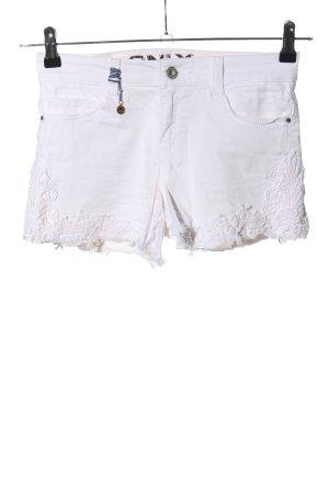 Only Short en jean blanc style décontracté