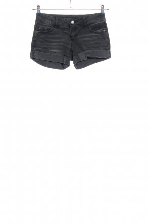 Only Jeansshorts schwarz Casual-Look