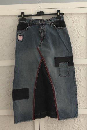 Only Jeanswear Rock S Jeansrock Cord Flicken Vintage