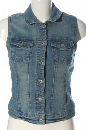 Only Denim Vest blue casual look