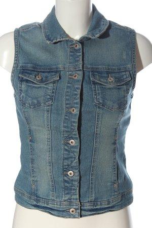 Only Gilet en jean bleu style décontracté