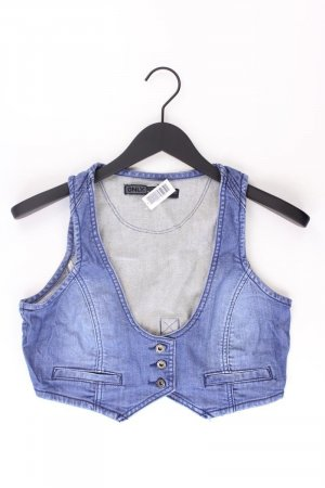 Only Jeansweste blau Größe W38