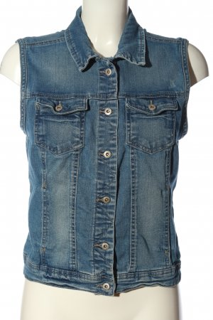 Only Jeansweste blau Casual-Look