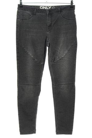 Only Biker jeans zwart casual uitstraling