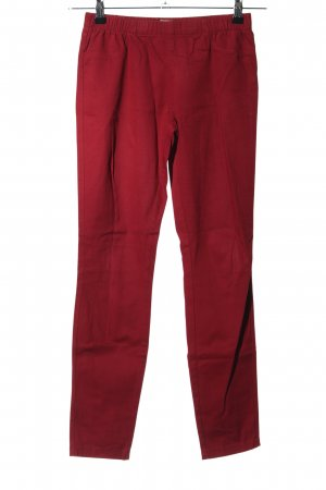Only Jegging rouge style d'affaires