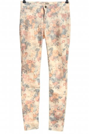 Only Jeggings Blumenmuster Casual-Look