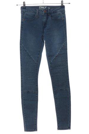 Only Jeggings blau Casual-Look