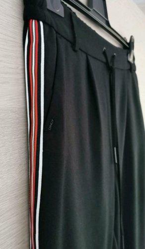 Only Jersey Stoff Hose mit Streifen