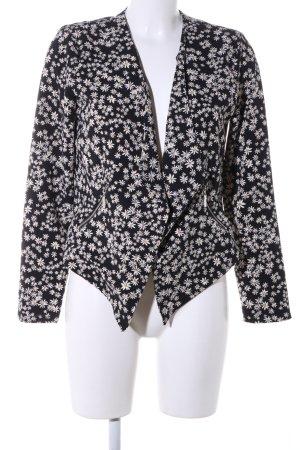 Only Jersey blazer bloemenprint casual uitstraling