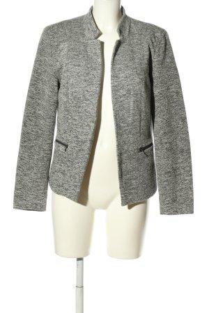 Only Blazer in jersey grigio chiaro puntinato stile casual