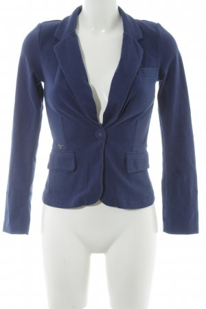 Only Jersey blazer donkerblauw casual uitstraling