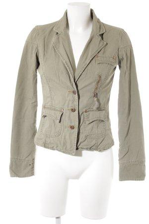 Only Jersey blazer khaki casual uitstraling