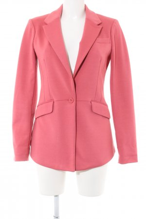 Only Blazer in jersey rosa stile professionale