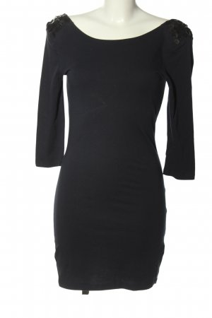 Only Jerseykleid schwarz Casual-Look