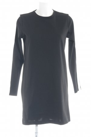 Only Jerseykleid weiß-schwarz Casual-Look