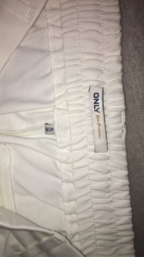 Only 7/8 Length Trousers natural white