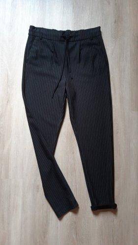 Only Spodnie materiałowe biały-czarny