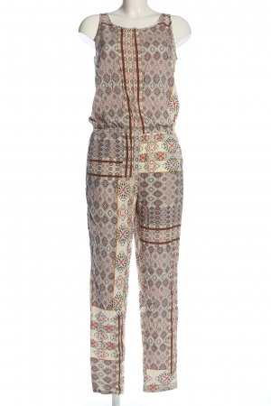 Only Jumpsuit grafisches Muster Casual-Look