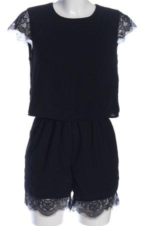 Only Jumpsuit schwarz klassischer Stil