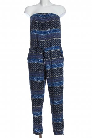 Only Jumpsuit Allover-Druck Casual-Look