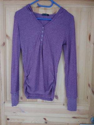 Only Top à capuche lilas
