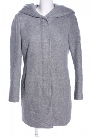 Only Hoody light grey flecked casual look