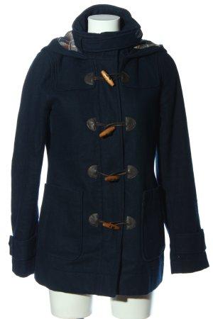 Only Płaszcz z kapturem niebieski W stylu casual