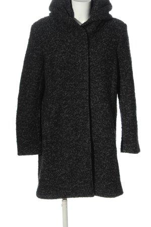 Only Cappotto con cappuccio nero-grigio chiaro modello web stile casual