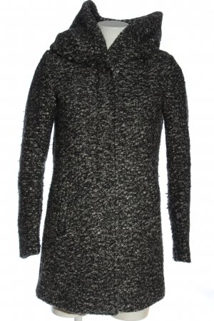 Only Abrigo con capucha gris claro look casual