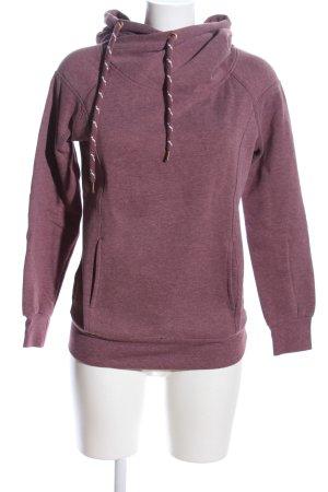 Only Kapuzensweatshirt pink meliert Casual-Look