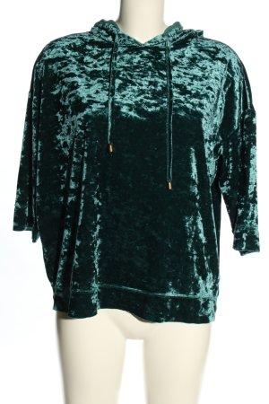 Only Kapuzensweatshirt grün Casual-Look