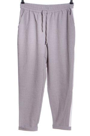 Only Pantalone peg-top grigio chiaro puntinato stile casual