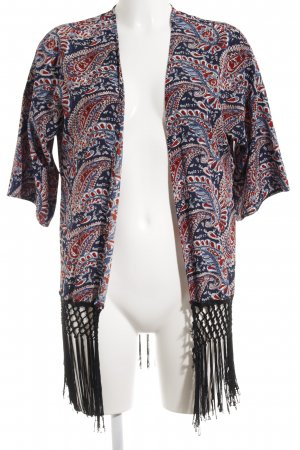 Only Kimono-Bluse mehrfarbig