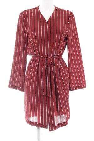 Only Kimono motivo a righe stile casual