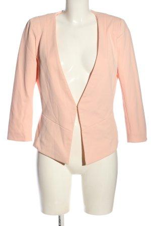Only Klassischer Blazer pink Business-Look