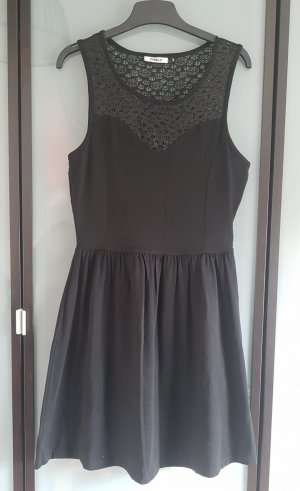 Only Kleid Jersey Spitze S
