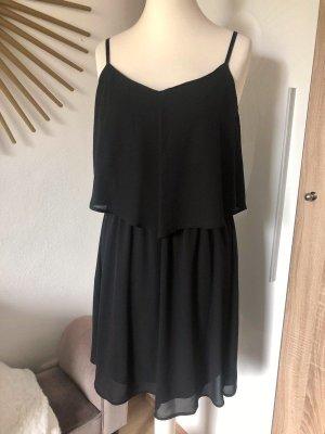 ONLY Kleid schwarz mit Trägern Gr. 38