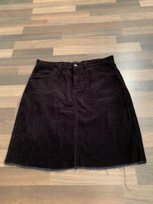 Only Midi Skirt black