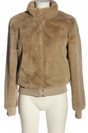 Only Fake Fur Jacket natural white casual look