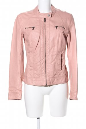 Only Kunstlederjacke pink Business-Look
